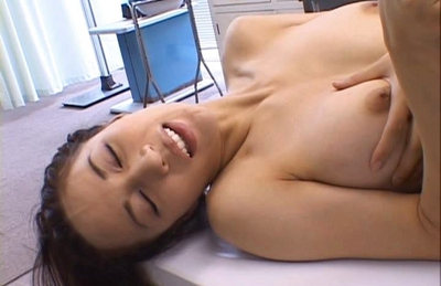 Anri Suzuki Asian doll gets a cock ride