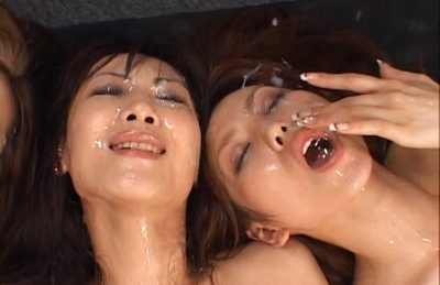 Maria Ozawa and friends getting  with cum facials