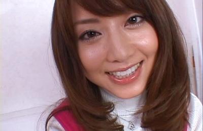 Akiho Yoshizawa Asian hottie gets her pussy fondled