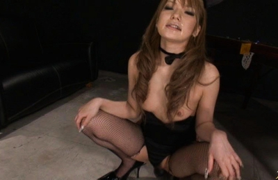 Sena aragaki has fishnets cut to get sex toys in ass and - 1 part 4