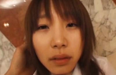 Saki Tsuji Hot Japanese schoolgirl rides on a cock