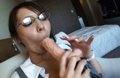 Sena Aragaki Sexy Asian model is fucked with a dildo