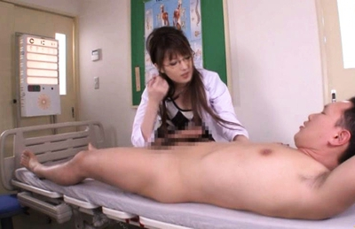 Tsubasa Amami Asian model is a naughty female doctor