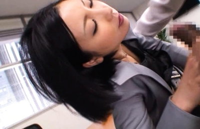 Ryo Sena Naughty Asian secretary fucks on the job