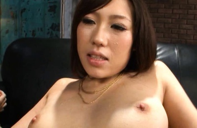 Tomoka Minami Asian model gets a hard fucking and cum in her mouth!