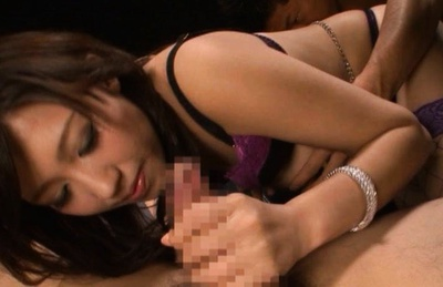 Tomoka Minami Asian doll gets her hairy snatch fingered