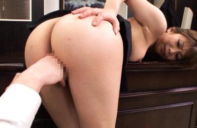 Hikari Hino Sexy Asian secretary fucks her boss