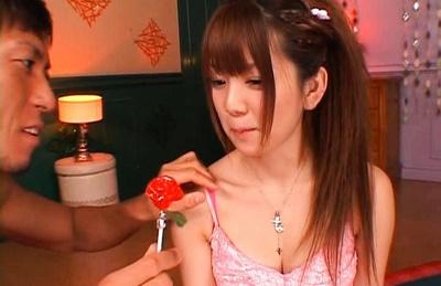 Mayu Nozomi hot Japanese doll likes kissing and sex