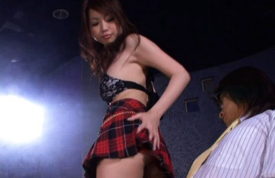 Busty Risa Kasumi group sex