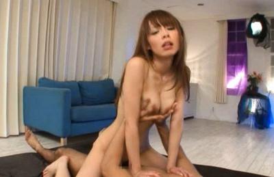 Eri Ouka Asian model has gangbang sex