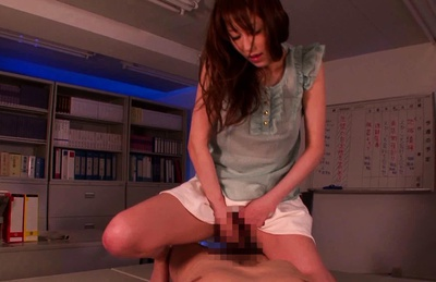 Arisa Sawa Loves Fucking Her Students For Their Cum