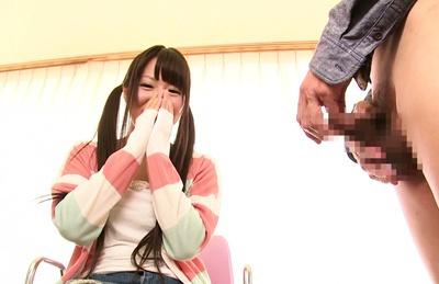 Chiharu Izono loves to deep suck cock
