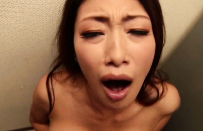 Busty japanese wife recives hardcore pounding