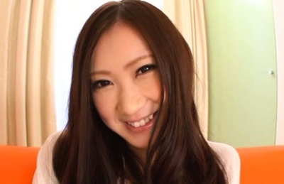 Miu Nagino Asian chick fondles her hairy pussy
