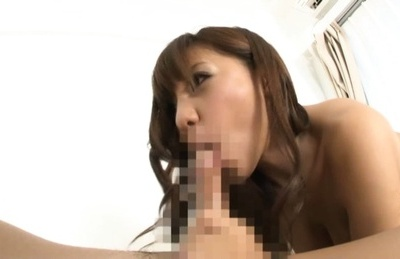 Busty babe Yu Sakra likes to get nasty with her guy