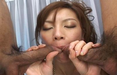 Asahi Miura Hot Horny Asian Doll Is Enjoying Her VIbrators