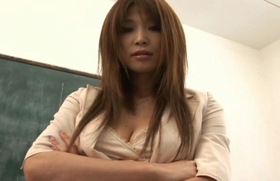 Ai Kurosawa Naughty Asian teacher likes to show off her excellent body