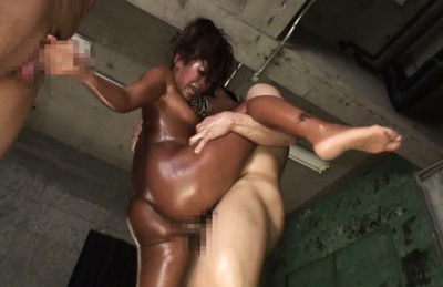 Double blowjob by agile Asian lady Rio Sakura