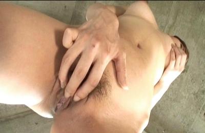 Natsumi Mitsu Horny Asian model enjoys her hot dildo play