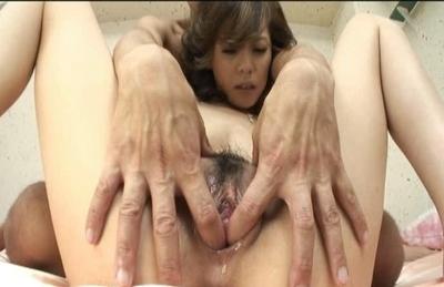 Natsumi Mitsu Naughty Asian model enjoys lots of hard sex