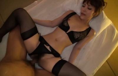 Playful kinky milf in sexy lingerie Kokomi Sakura plays with hard cock