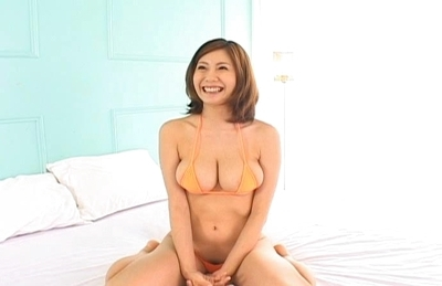 Yuma Asami Japanese maid with big tits like to play with them