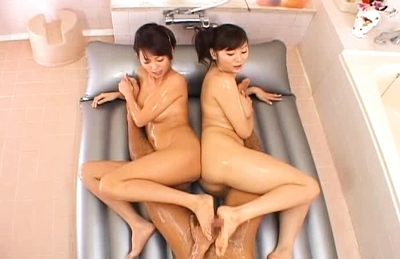Japanese AV models enjoy getting fucked in the bathroom