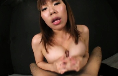 Fantastic Asian bombshell Iroha Suzumura shows off titfuck action