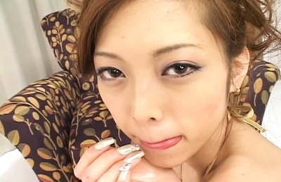 Miho MaeshimaLovely Asian babe gives amazing head