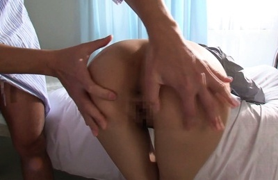 Busty Japanese female doctor Tsukasa Aoi fucked in a rough manner