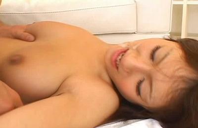 Reon Otawa Asian model enjoys a hard fucking