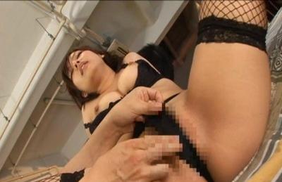 Nao Ayukawa Naughty Asian model has a threesome