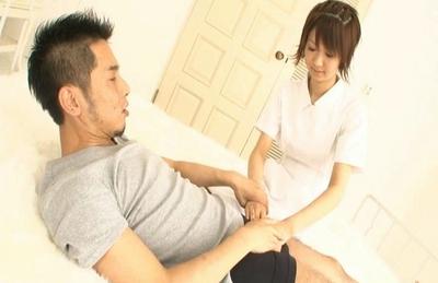 Miriya Hazuki Asian doll gives head and gets a pussy licking