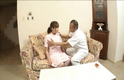 Myuu Hasegawa Pretty Asian doll gets a hard fucking