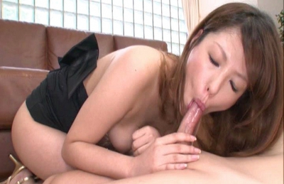 Nanami Hot Asian doll is good at sucking cock