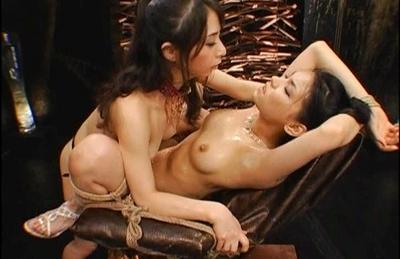 Maria Ozawa and Yuki Osawa Asian dolls playing with their pussies and dildos