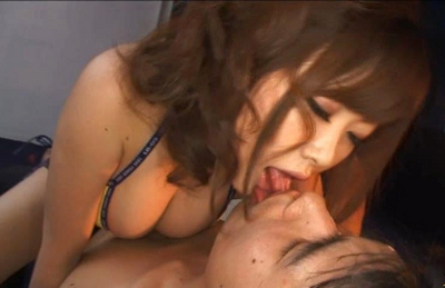 Rio Hamasaki Hot busty Asian model gets her wet pussy drilled