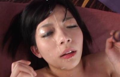 Urumi Narumi gets her wet tight twat rammed good