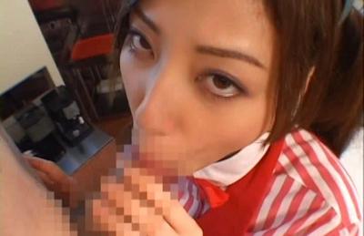 Miyuki Yokoyama Lovely Asian chick who shows her hot pussy